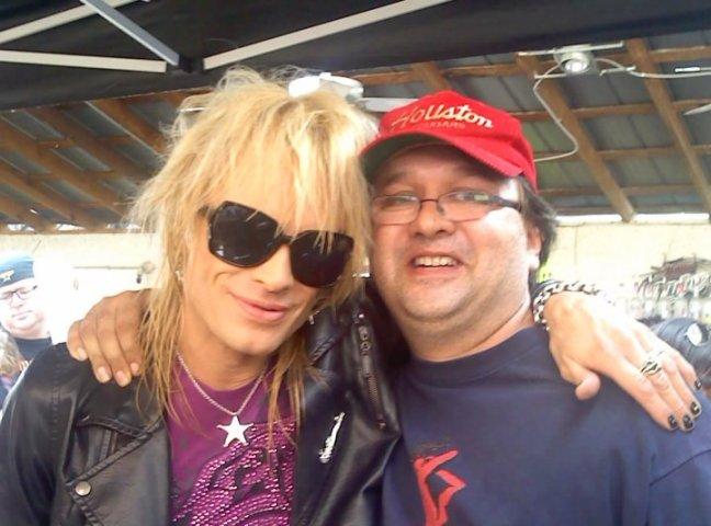 Michael Monroe and me